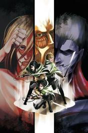 Attack on Titan Season 2 Manga Box Set Hajime Isayama, Paperback