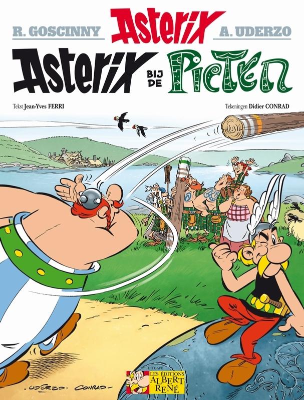 35. asterix bij de picten ASTERIX, didier conrad, Paperback
