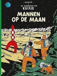 KUIFJE 17. MANNEN OP DE MAAN KUIFJE, Hergé, Paperback