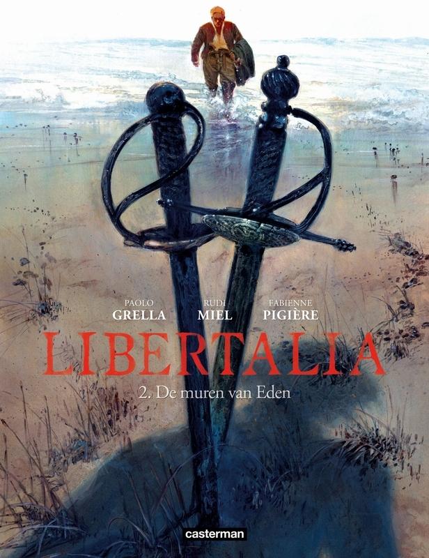 LIBERTALIA HC02. DE MUREN VAN EDEN LIBERTALIA, Pigière, Fabienne, Hardcover