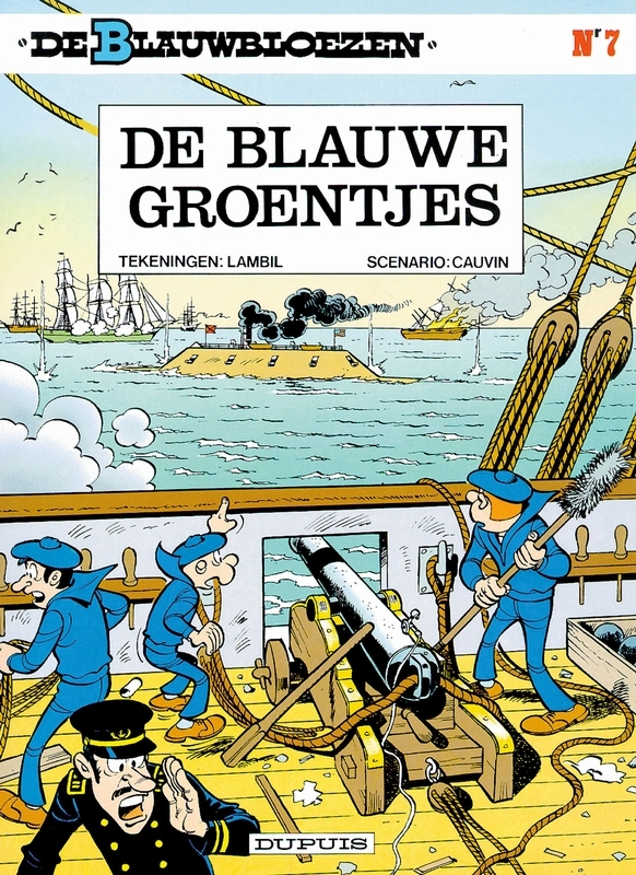 BLAUWBLOEZEN 07. DE BLAUWE GROENTJES (HERDRUK) BLAUWBLOEZEN, LAMBIL, WILLY, CAUVIN, RAOUL, Paperback