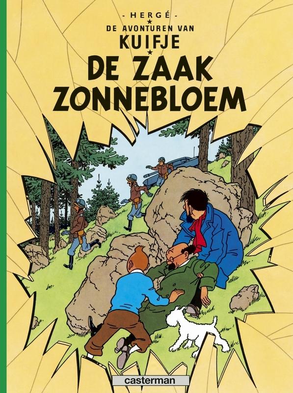 KUIFJE 18. DE ZAAK ZONNEBLOEM KUIFJE, Hergé, Paperback