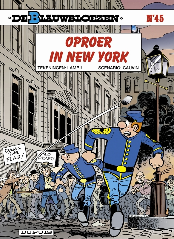 BLAUWBLOEZEN 45. OPROER IN NEW YORK BLAUWBLOEZEN, LAMBIL, WILLY, CAUVIN, RAOUL, Paperback
