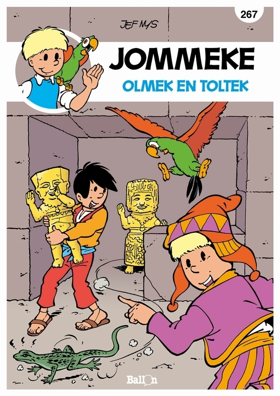 JOMMEKE 267. OLMEK EN TOLTEK JOMMEKE, Nys, Jef, Paperback