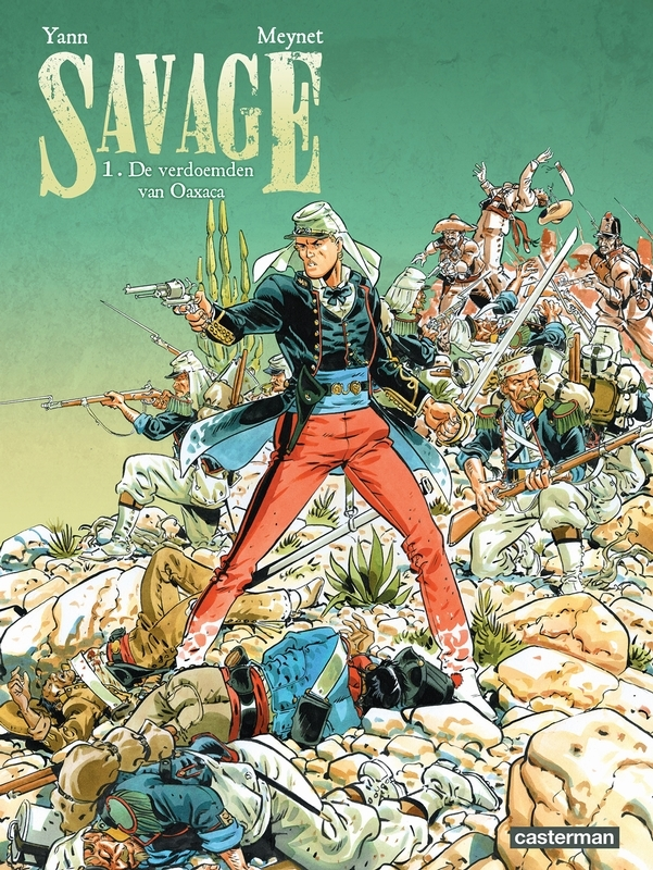 SAVAGE 01. HET SPOOK VAN CHAPULTEPEC 1/3 SAVAGE, Yann, Paperback