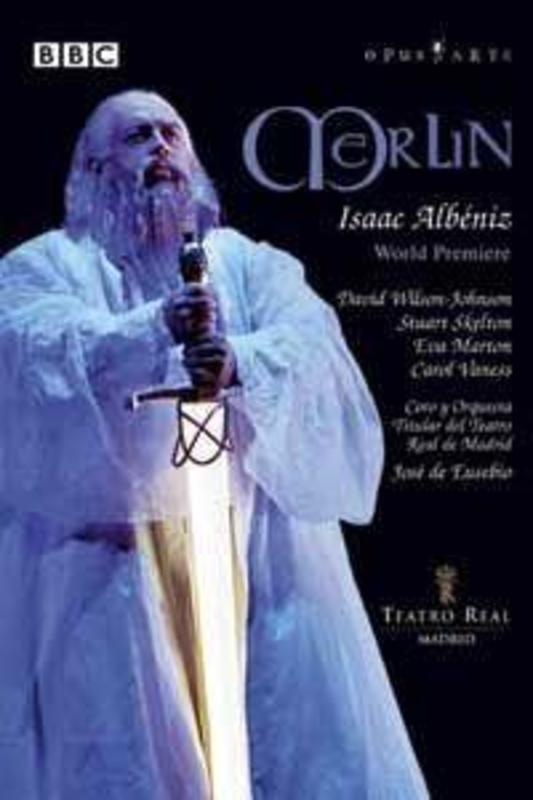 MERLIN, ALBENIZ, EUSEBIO, J.D. PAL/ALL REGIONS/W/J.D.EUSEBIO, TEATRO REAL MADRID, EVA DVD, I. ALBENIZ, DVDNL