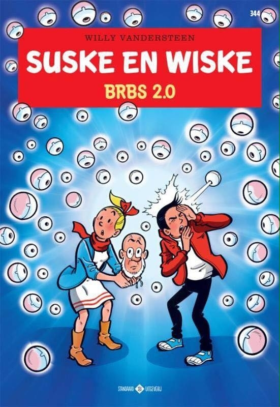 SUSKE EN WISKE 344. BRBS 2.0 SUSKE EN WISKE, Van Gucht, Peter, Paperback