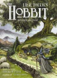 Hobbit Illustrated by David Wenzel, Tolkien, John Ronald Reuel, Paperback