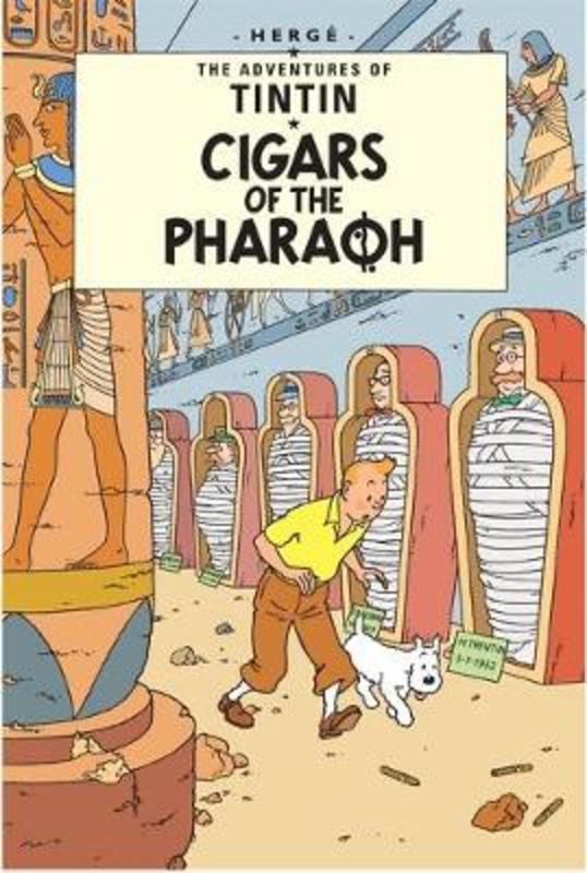 Cigars of the Pharaoh TINTIN, Hergé, Paperback