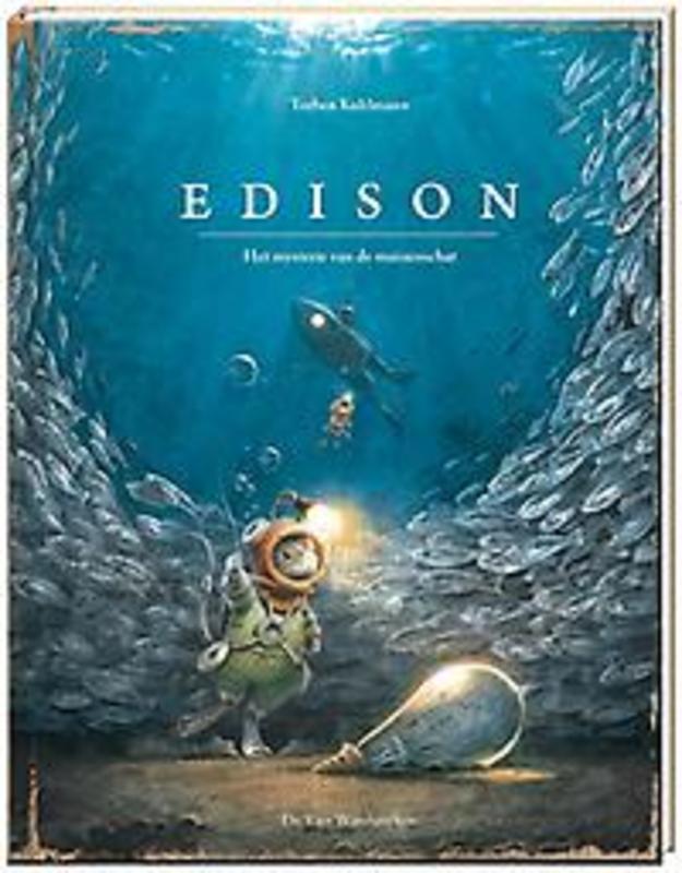 Edison het mysterie van de muizenschat, Torben Kuhlmann, Hardcover