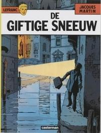LEFRANC 03. DE GIFTIGE SNEEUW LEFRANC, Martin, Jacques, Paperback