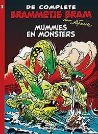 Brammetje Bram INTEGRAAL LUXE 2 Mummies en monsters Hardcover