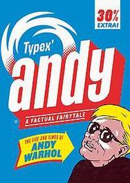 Andy de vele levens van Andy Warhol, Typex, Hardcover