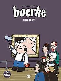 Boerke kijkt kunst De Poortere, Pieter, Hardcover
