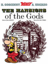 ASTERIX (17) ASTERIX AND THE MANSIONS OF THE GODS (ENGLISH) Album 17, Rene Goscinny, onb.uitv.