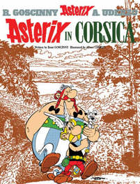 ASTERIX (20) ASTERIX IN CORSICA (ENGLISH) ASTERIX, UDERZO A, onb.uitv.