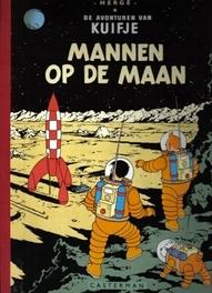 KUIFJE FACSIMILE KLEUR HC17. MANNEN OP DE MAAN Mannen op de maan, Hergé, Hardcover