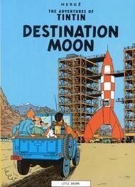 Destination Moon TINTIN, Hergé, Paperback