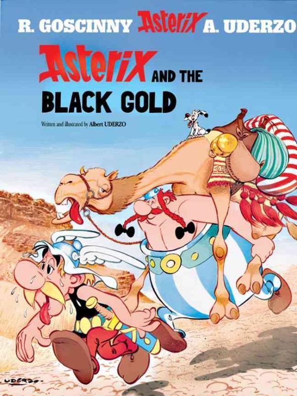 ASTERIX (26) ASTERIX AND THE BLACK GOLD (ENGLISH) Album #26, Uderzo, Albert, Paperback