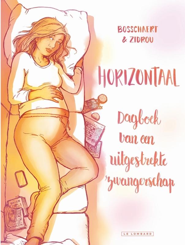 HORIZONTAAL HC01. DAGBOEK VAN EEN UITGESTREKTE ZWANGERSCHAP HORIZONTAAL, Zidrou, Hardcover