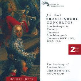 BRANDENBURG CONCERTOS HOGWOOD/A.A.M. Audio CD, J.S. BACH, CD
