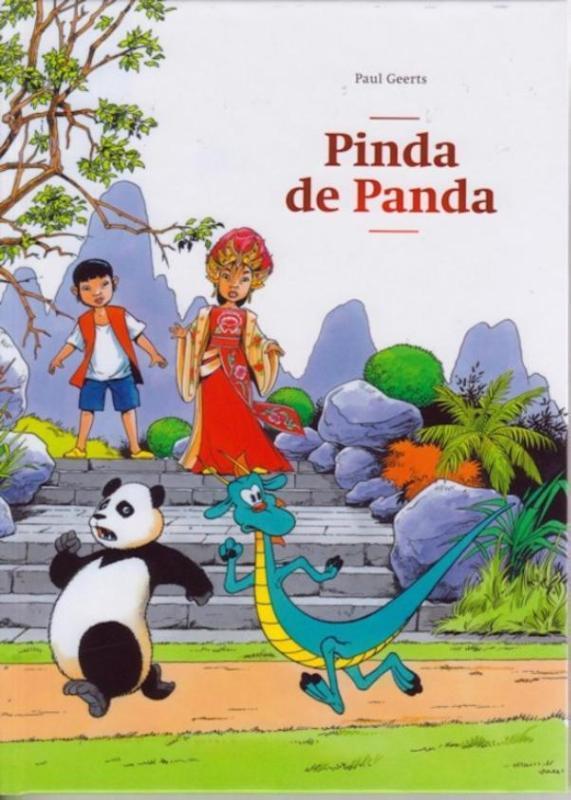 Pinda de Panda De avonturen van Mo en Jade, Paul Geerts, Hardcover