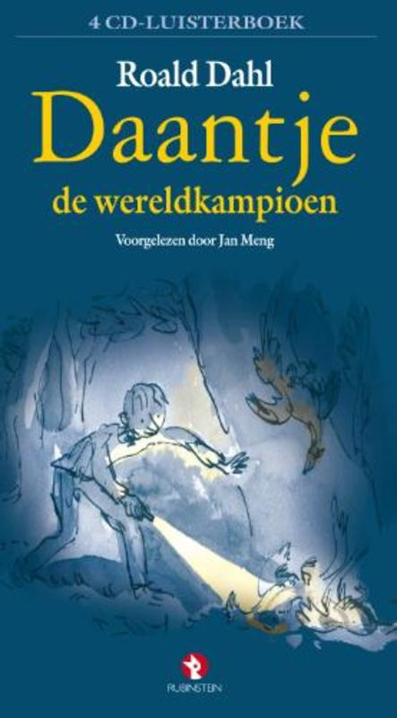 Daantje de wereldkampioen 4 CD'S ROALD DAHL luisterboek voorgelezen door Jan Meng, LUISTERBOEK, Luisterboek