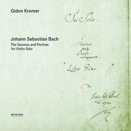 SONATAS AND PARTITAS.. W/GIDON KREMER Audio CD, BACH, J.S., CD