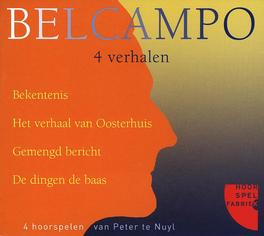 BELCAMPO - 4 VERHALEN Audio CD, AUDIOBOOK, Luisterboek