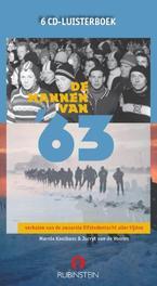 De mannen van '63 MARNIX KOOLHAAS & JURRYT VAN DE VOOREN 6 CD Luisterboek verhalen van de zwaarste Elfstedentocht aller tijden, AUDIOBOOK, Luisterboek