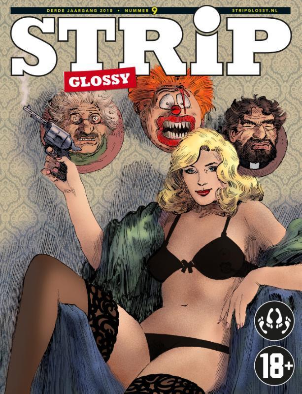 StripGlossy 9 strips voor volwassenen, Heij, Fred de, Paperback