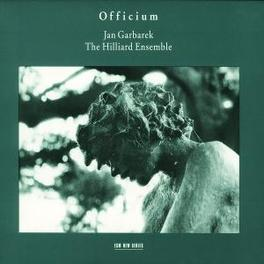 OFFICIUM COMPOSITIONS FROM 13TH & 16TH CENTURY Audio CD, JAN/HILLIARD EN GARBAREK, CD