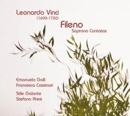 FILENO:SOPRANO CANTATAS STILE GALANTE/STEFANO ARESI/GALLI L. VINCI, CD