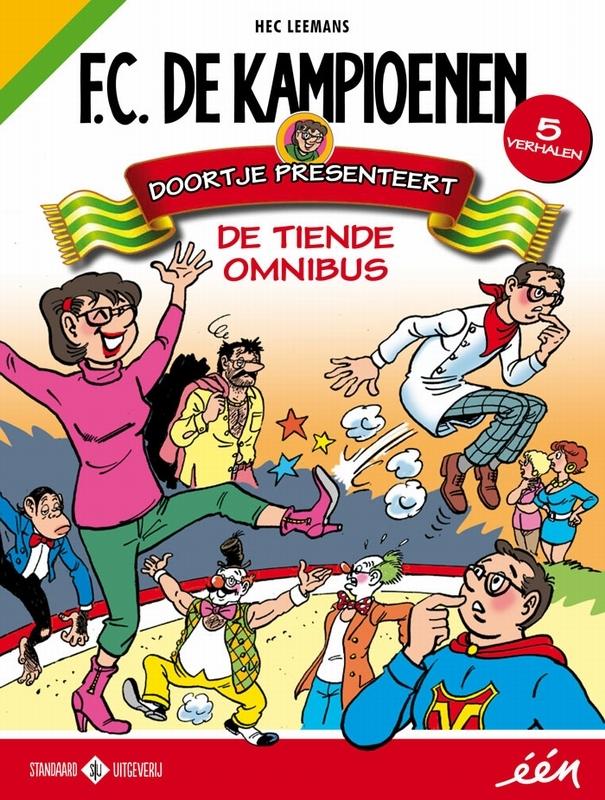 Doortje presenteert KAMPIOENEN OMNIBUS, Hec Leemans, Paperback