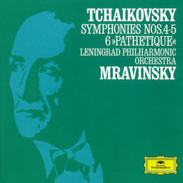SYMPH.NO.4,5&6 LENINGRAD PHIL.ORCH./MRAVINSKY Audio CD, P.I. TCHAIKOVSKY, CD