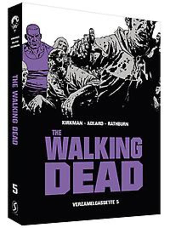 The Walking Dead SC cassette 5 inclusief softcover 17 t/m 20, Robert Kirkman, Hardcover