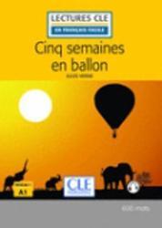 Cinq semaines en ballon (Vernes, Jules) Niveau 1/A1, 62p. Paperback