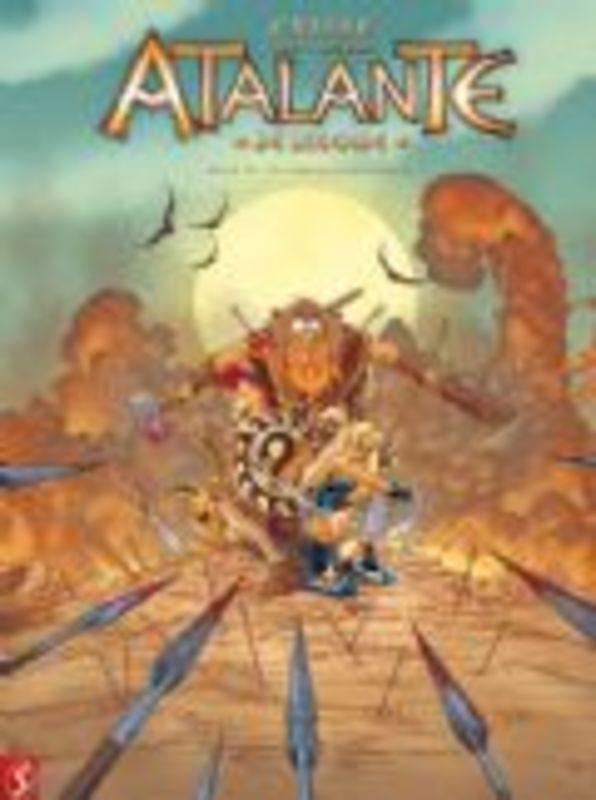 Atalante 10.  (Crisse, Grey, Besson) 48 p.Hardcover Atalante de legende, Crisse, BKSTSPER