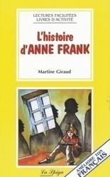 L'HISTOIRE D'ANNE FRANK...