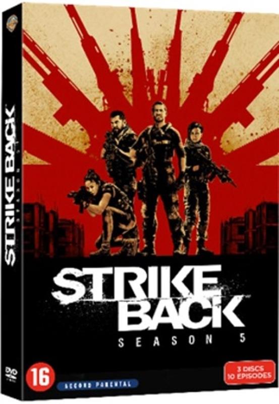 Strike back - Seizoen 5, (DVD) Ryan, Chris, DVDNL