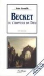 BECKET- Ou l'honneur de Dieu  (Easy reader Franstalig), Paperback