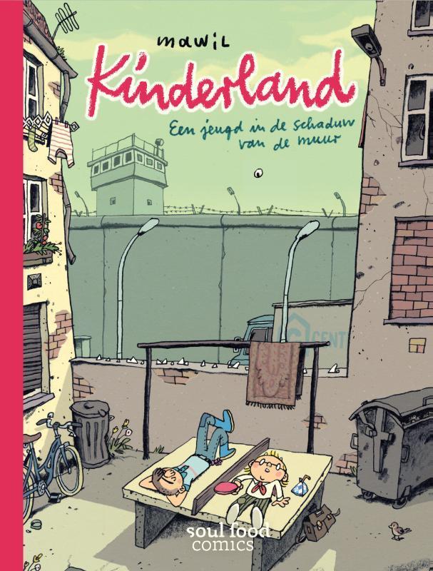 Kinderland een jeugd in de schaduw van de muur, Mawil, Hardcover