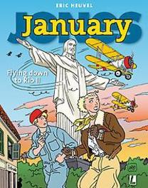 January Jones 10 - Flying down to Rio II January Jones, Heuvel, Eric, Paperback