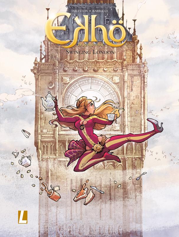 EKHO, DE SPIEGELWERELD 07. SWINGING LONDON EKHO, DE SPIEGELWERELD, Christophe Arleston, Paperback