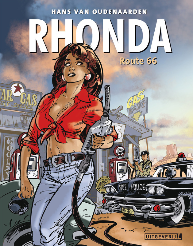 Rhonda 03 - Route 66 Rhonda, Hans van Oudenaarden, Paperback
