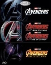 Avengers 1-3, (Blu-Ray) BILINGUAL /CAST: ROBERT DOWNEY JR, SCARLETT JOHANSSON Blu-Ray