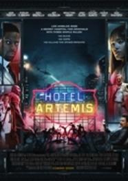 Hotel Artemis, (DVD) CAST: JODIE FOSTER, SOFIA BOUTELLA, JEFF GOLDBLUM DVDNL