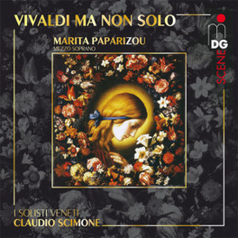 VIVALDI MA NON SOLO I SOLISTI VENETI/CLAUDIO SCIMONE MARITA PAPARIZOU, CD
