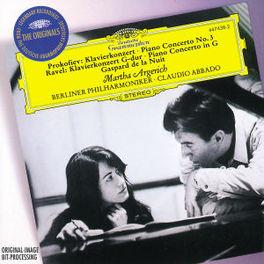 PIANO CONCERT NO.3 -GASPARD/CLAUDIO ABBADO Audio CD, PROKOFIEV/RAVEL, CD