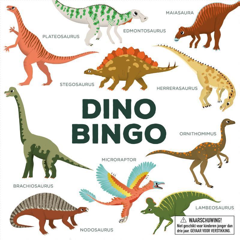Dinobingo. Hardcover